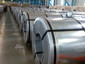 Hot Dipped Galvanized Sheet Metal Coils / GI Steel Coil Grade DX51D ZINC 40G-180G
