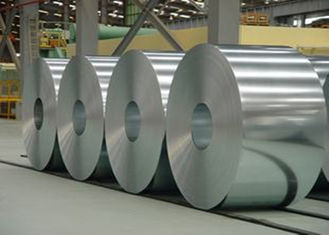 ASTM A653M Galvanized Steel Coil 508mm - 610mm Width For Building / Construction